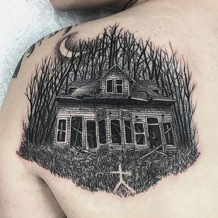 abandoned house by Christopher Jade #abandoned #house #haunted #woods