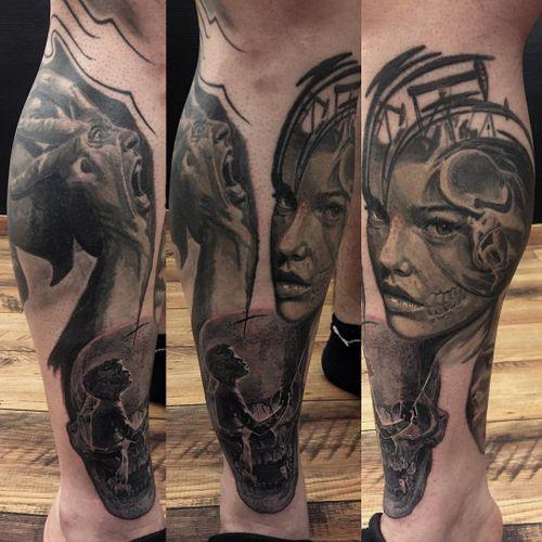 #realisticink #tattoorealistic #realistictattoo#thepenetrationinc