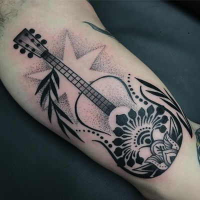 #guitar #guitartattoo