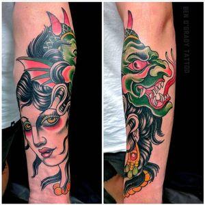Tattoo by Stone Heart Body Art