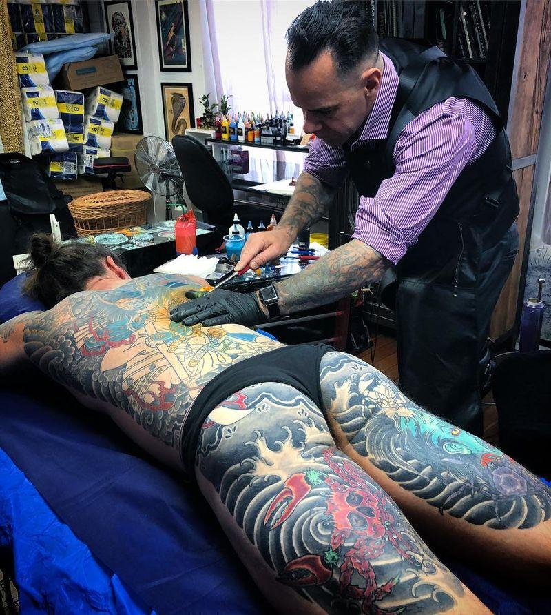 Tattoo from Kian Forreal