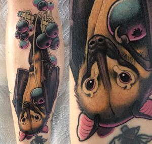 Bat done at Killjoy tattoo in Akron