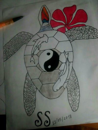 Turtle sea idea #turtle #idea #drawing #independent