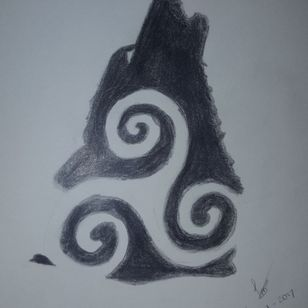 This will be my first tattoo.. #wolf #teenwolf