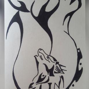 Something I draw.. #wolf