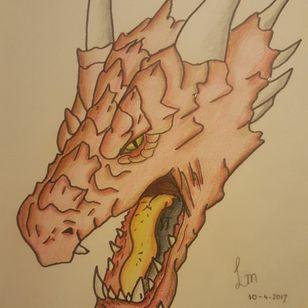 #tattooidea #dragon