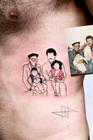 #Family illustration