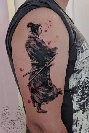 The path of a samurai/ Tatuaj samurai #tattoo #tatoobucharest #tatuajebucuresti #tatuaje #thtattoo #bucharest #romania  #samurai #warrior #thtattoo #salontatuajebucuresti  #salontatuaje www.tatuajbucuresti.ro