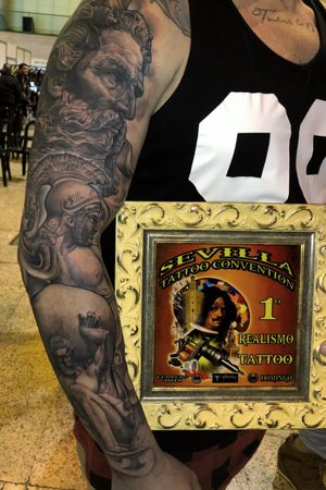 First place on Realism Category at Sevilla Tattoo Convention 2018