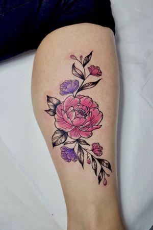 Flower #art #artists #tattoo #tattooartist #draw #drawing #drawings #tattoos #tattooink #ink #inkedgirls #tattooer #tattooed #inkdrawing #follow4follow #followforfollow #like4like #likeforfollow #likeforlike #skulltattoo #flower #flowertattoo #color #tattooforgirls