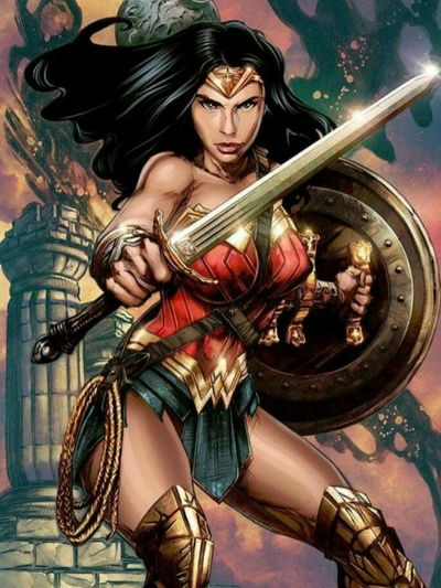 #wonderwoman #dccomics #DCTattoos