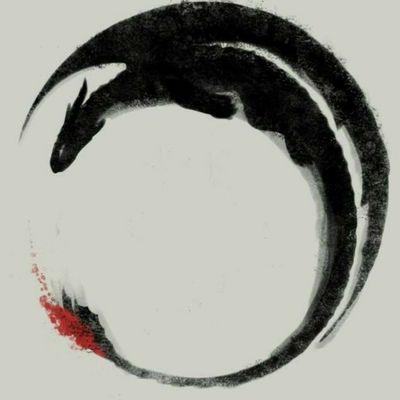 #toothless #howtotrainyourdragon #dragon #nightfury #circle #watercolor