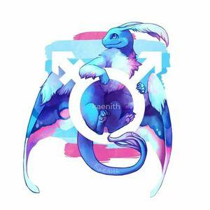 #transgender #pride #dragon #lgbt