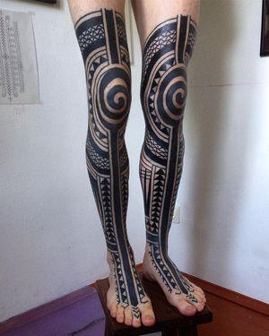 Legs by HAIvarasly #blackwork #legs #haivarasly