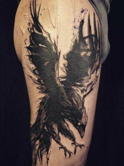 #raven #bird #dark