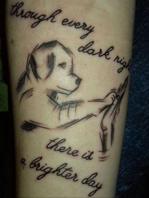 #dog #dogtattoo #blackandgreytattoo #nothealed #tupac #tupacshakur #tupaclove #pray #staystrong #doggo