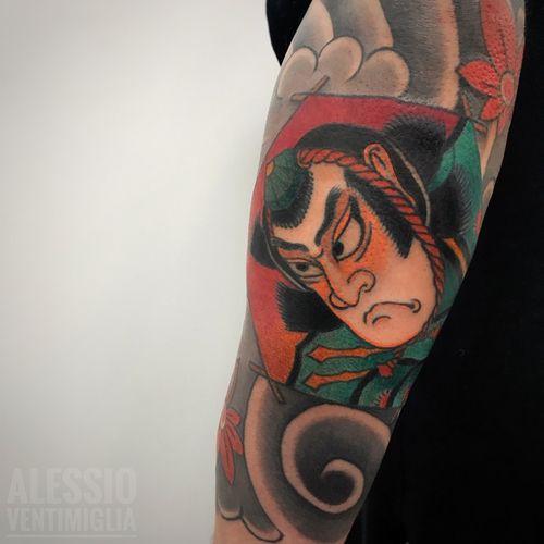 #tako #samurai  #delightneedles #irezumism #picoftheday #reclaimthedots #irezumistudy #video #videooftheday #japan #japantattoo #dragon #babes #inkedbabes #awesome #best #backpack #backpiece #tora #tattoo #tattoolife #traditional #irezumism #ink #reclaimthedots #tattoodo #art #wabori