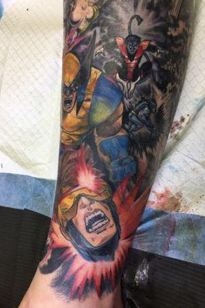Xmen comic book sleeve