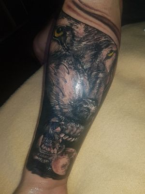 Wolf #tattoo #tattoart #tattooed #inked