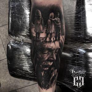 Old man tattoo #oslo #norway
