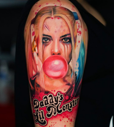 By Dave Paulo #harleyquinn #color #realisticpopart