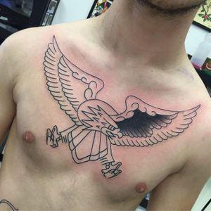 Work in Progress by Emiliano Mataleao • RESIDENT ARTIST ____________________________________ #ink #tattoos #tattoo #blackink #collage #blacktatts #handmade #art #onlyblackart #occult #illustration #graphic #avantgardetattoo #blackandwhite #italy #roma #ostia #trastevere #tattooillustration #blackworkerssubmission #blacktattooart #blacktattoos #loveTTT #tattoodo #inked