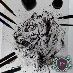 TIGRE - em Blackwork. 😈😈😈 . . .. Quer uma arte pensada pra ti? . . . Arte autoral já foi pra pele. 😍 INDISPONÍVEL . . ***Todos por um mundo mais colorido com qualidade.*** . . . . #AndreMeloTattooArtist #MelosTattooInk #tatuagem #tattoo #tattoing #tattooart #tattooer #tattooist #tatuadoresbrasileiros #tatuagembrasil #inspirationtattoo #tattoodo #art #drawing #tattoomachine #rotarymachinetattoo #vilaclementino #vilamariana #ibirapuera #black #blackworkers #blackwork #blackworktatoo #dotwork #sketch #sketchtattoo #sketchwork #tigre #tiger