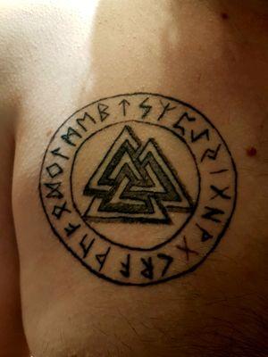Valknut runes