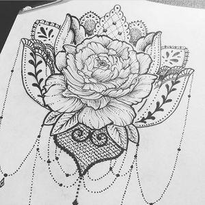 Rosa e mandala