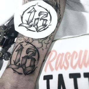13 tattoo #tatooartist #13ink #estudiorascunhos