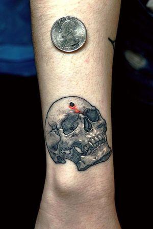 Skull on Julliette's wrist