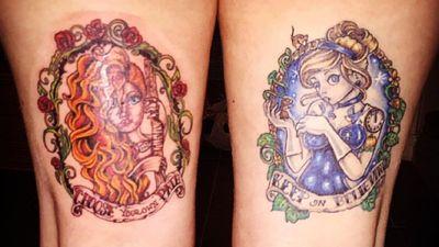 Merida & Cinders #disney #brave #merida #cinders #cinderella #fresh