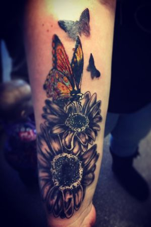 Flower butterfly cover-up