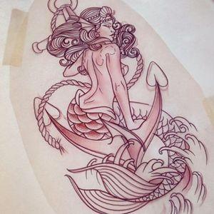#mermaid #neotraditionaltattoos #ocean # hippie