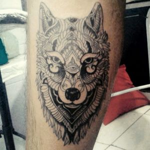 #lobo #wolf #electricink #tattoobr #brasiltattoo