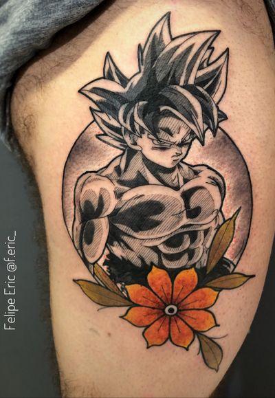 Goku ultra Instinct Para orçamentos Av. Rebouças, 2445. Pinheiros ou também pelo WhatsApp (11) 94160-6145 Tatuagens menores também são feitas com a mesma dedicação dos trabalhos maiores ! Já viu meus histories fixados ? Lá tem alguns trabalhos que estão disponíveis para tatuar, quem sabe você não se identifica ? #nerdytattoosdaily #vgta2 #gamerink #nerd #geek #gamer #animemasterink #manga #anime #animetattoo #geektattoo #tattoo #tatuagem #mangatattoo #goku #gokutattoo #dragonballtattoo #dragonball #dragonballsuper #dragonballz #japan #gellys #felipeeric