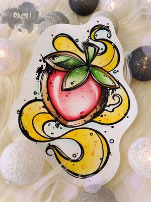 #strawberries #strawberry #jewelrytattoo #design #neotraditionaltattoos #paoli