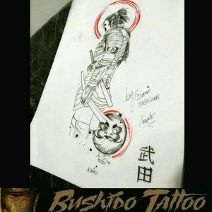 """Da Menor a Maior Gratidão em Fazer Parte de Cada História e Cada Homenagem envolvida em Nossas Tatuagens... Especialista em Tatuagens Delicadas, Tatuagens Femininas Traços Finos/FineLine Escristas/Caligraphy - Desenho de Samurai/Warrior Stylizada com Daruma/Kanji Desenho Por, @araninchaves em @bushidotattoobr . Line Work - Sky Line - Desenho/Draw - Fine Line/LinhaFina - Samurai/Warrior - Com Escrita/Caligraphy - Kanji e Daruma Obg Pela Confiança em Nosso Trabalho...😷✍🙏🙌👺 . Quer uma Arte Exclusiva Chama No Whatsapp do Estúdio 👇👇 Agendamento&Orçamentos Somente Pelo Whatsapp do Estúdio 📲 +5517991218074... . """"Tatuagem Também é Cultura, Amor & Art."""" . 🇧🇷BUSHIDO TATTOO 🇧🇷 #BushidoTattooBr #AraninChaves #Tatuadora #sjrp #sjriopreto #riopreto #riopretotattoo #tattooriopreto #tatuagemriopreto #riopretotatuagem #saojosedoriopreto #Tattooja #TopDasTattoos #TattooSocial #Ornamental #tatuagem #tatuagemsp #tatuagemideal #BlackWork #LinerWork #CaligraphyTattoo #TraçosFinos #DotWork #Tattoodo #lineworktattoo #fineliner #BlackAndGrey #Samurai #Daruma #Kanji . 🏯 BUSHIDO TATTOO 🏯 São José do Rio Preto-SP R: Dr Luiz Américo de Freitas n° 504 Sala3 Bairro: Vila Ercília Whats: 📲 +55 17 991218074 . 👉Curta 👉Like Nossa Pagina no Face... 💻 facebook.com/bushidotattoobr 👉Follow 👉Siga 👉Instagram.... 📷 instagram.com/bushidotattoobr"""