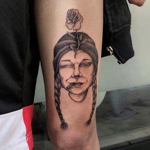 🌹 #worldfamousink #stigmarotary #fkirons #femaletattooartist #ladytattooer #tattoosdaily #kayatomahawk #kwadronneedles #italiantattooartist #tattooart #dailytattoos #tattooitaliamagazine #tattooartistmagazine #tattoolifemagazine #loosedoggstattoo