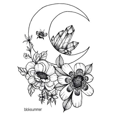 #tattoo #flowertattoo #tattooartist #naturetattoo #lineworktattoo #dotworktattoo #blackwork #BlackworkTattoos #animaltattoo #moontattoo #crystals #bee #naturetattoo