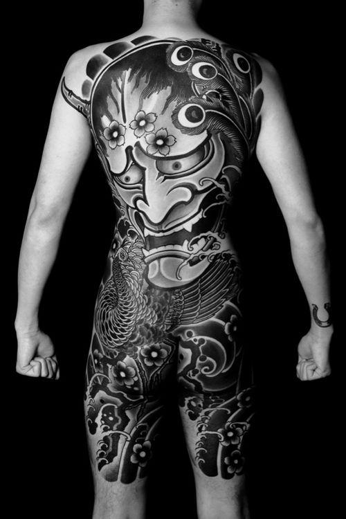 #hannya #bodysuits #backpiece #japanesetattoo  #feathercloud #japanesetattoos #shanetan  #tattoo  #japaneseart #japanesetattooart #irezumi #wabori