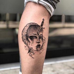 🔪 #worldfamousink #stigmarotary #fkirons #femaletattooartist #ladytattooer #tattoosdaily #kayatomahawk #kwadronneedles #italiantattooartist #tattooart #dailytattoos #tattooitaliamagazine #tattooartistmagazine #tattoolifemagazine #loosedoggstattoo