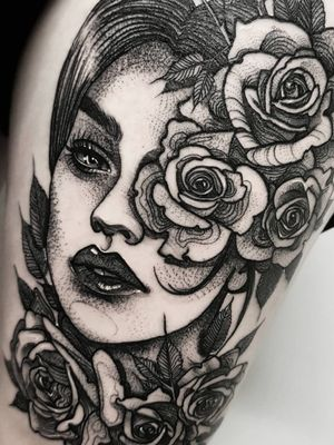 Instagram: @olga_tattoos E-mail: Olgamdtattoos@gmail.com #roses#rose#face#ladyhead#woman#beauty#ladytattoo#lips#eyes#flowers #london#londontattoos#shoreditch#customdesign#customtattoos#bw#blackink#blscktattoos#tattoo#tattoos#tattooed#tattooers#blackwork#blackink#blackworkers#blackworkers_tattoo#ttt#tttism#ldnttt#london#ink#londontattoos#uktattooers#blacktattoos#blackandgrey#blackandgreytattoos#realistictattoo#art#blackandgreytattoos#posTTT#loveiTTT