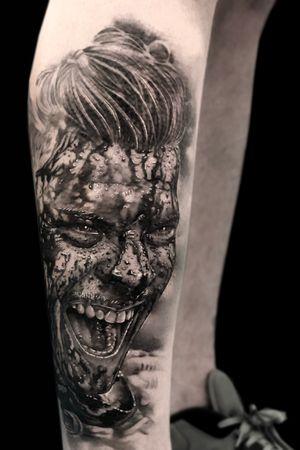 Ivar the boneless. Done using #inkjecta #aloetattoo #Intenzetattooink and #hardcraftcompany