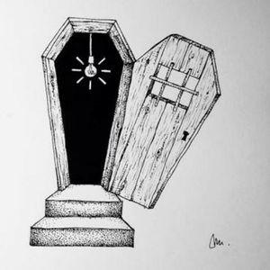 Coffin door
