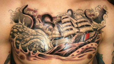 #Finale #Kraken #Ship