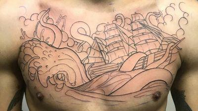 #FirstSession #Kraken #Ship