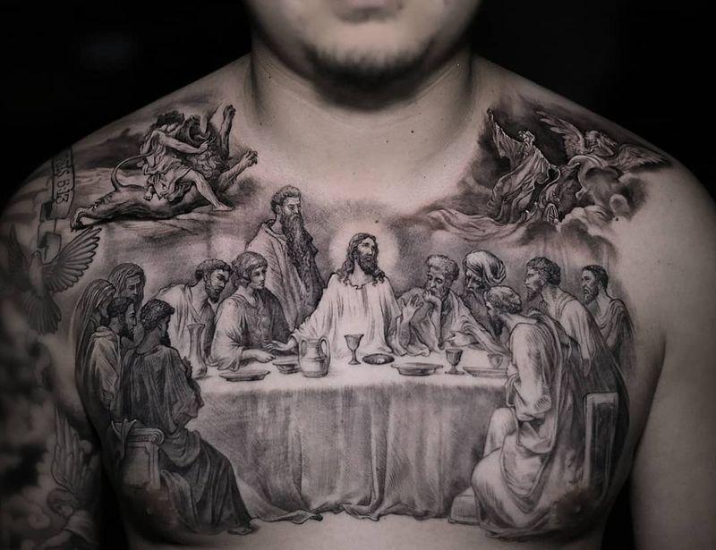 Tattoo from Stefano Alcantara