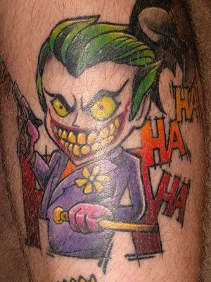 #jokertattoo #Joker #batmanjoker #comic #comictattoo #nerdtattoo