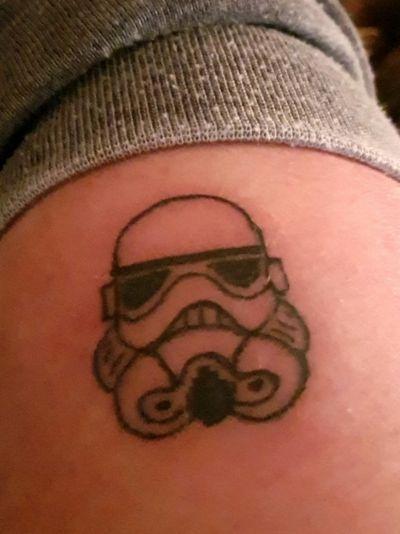 #stormtrooper #smalltattoo #starwars